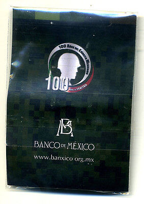 Mexico 20 Pesos 2013, 100 Th Army w Blister KM New UNC