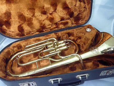 Corton (European built)  Eb Tenor Horn, Ready To Play Out Of The Case