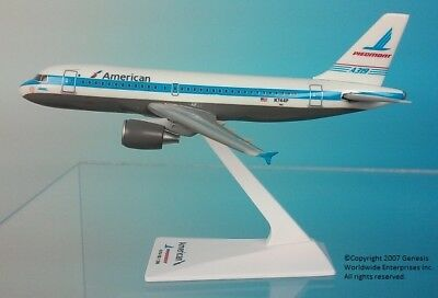Flight Miniatures American Airlines Piedmont Retro Airbus A319-100 1:200 Plastic