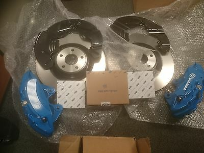 Ford Focus Rs Mk3 Front Brake Kit New Blue St250 Upgrade