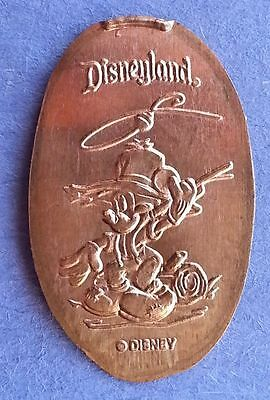 Mickey Mouse Fly Fishing Elongated Penny - Disneyland DL0248