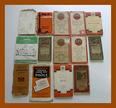 OLD Ordnance Survey Maps LOT London Hull Survey Maps Isle of Wight Portsmouth ++