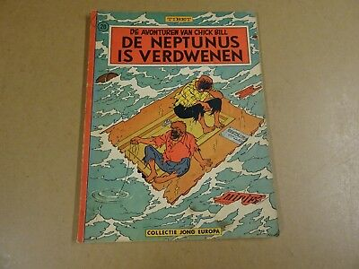 Strip 1° Druk Collectie Jong Europa N° 20/ Chick Bill - De Neptunus Is Verdwenen