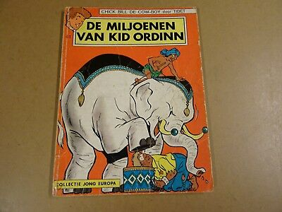 Strip 1° Druk Collectie Jong Europa N° 41 / Chick Bill - De Miljoenen Van Kid...