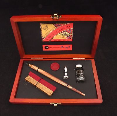 Manuscript Victoriana Writing and Sealing Calligraphy Set - S77