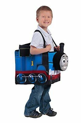 NEW Child's Thomas the Tank Ride-in Train Costume - Blue - Size: One Size