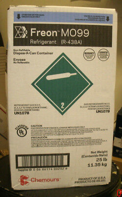 Chemours Freon M099 (R-438A) Refrigerant DROP IN R22 NEW