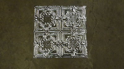 "TEN (10) 12-02 Tin Ceilings 12"" pattern Victorian Design on 2 x 2 sheets panels"