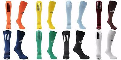 Adidas Santos Sock NEW KIDS JNR ADULT 3 Stripe Football Soccer Sports