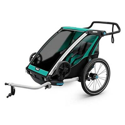 Thule Chariot Lite 2 + Kit De Bici 2 Places Blue