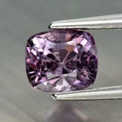 0.98ct 5.4x4.7mm Cushion Natural Purple Spinel, M'GOK