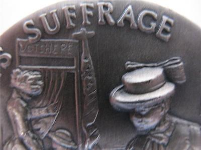 Women's Suffrage 1920 1+Oz .925 Longines Sterling Silver Coin Vote 2016 +Gold