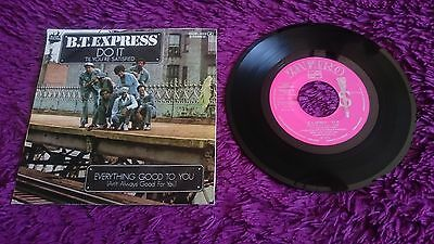 "B.T. Express ‎– Do It ,  Vinyl, 7"", Single , 1976 , Spain , OOP-102 , PROMO"