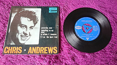 "Chris Andrews ‎– Yesterday Man ,  Vinyl, 7"", EP, 1966 ,  Spain"