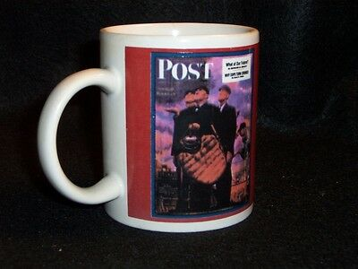 Norman Rockwell Saturday Evening Post cover coffee cup #6