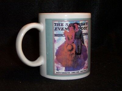 Norman Rockwell Saturday Evening Post cover coffee cup #11