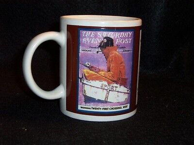 Norman Rockwell Saturday Evening Post cover coffee cup #2