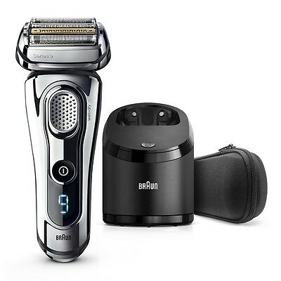 NEW BRAUN 9295CC Series 9 TITANIUM Wet & Dry Mens Cordless Electric Shaver