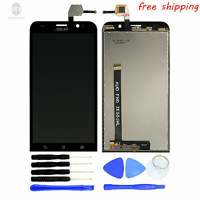 LCD  Display+Digitizer Touch Assembly +Tools For  Asus Zenfone 2 ZE551ML 5.5""