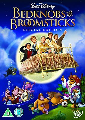 Bedknobs And Broomsticks 1971 Disney Animation Special Edition DVD Brand New