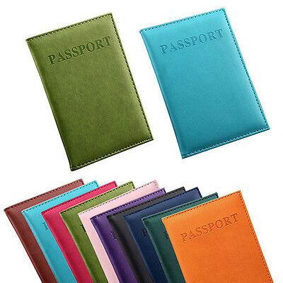 Vintage Nice Travel Passport ID Card Cover Holder Case Protector Organizer New