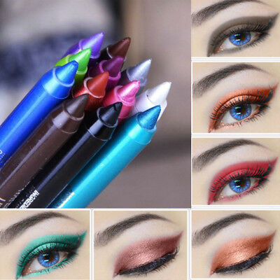 2pcs Waterproof Eyeliner Pigment Eye Liner Pen Pencil Makeup Beauty Cosmetic Kit