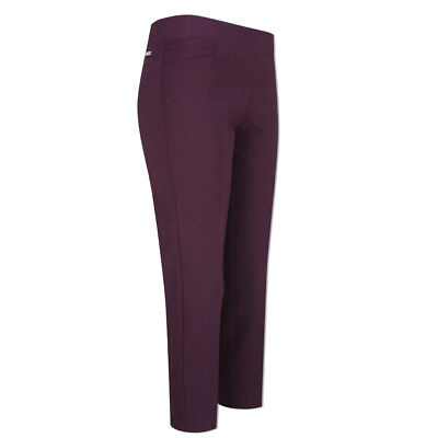Adidas Ultimate Adistar Cropped Trousers with Stretch Finish in Purple Grape