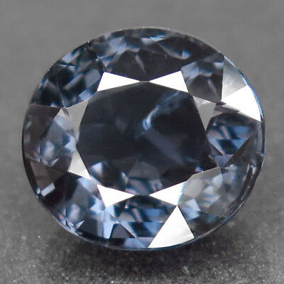 3.87ct.Magnificent Gem! 100%Natural Titanium Color Spinel Unheated AA Nr!