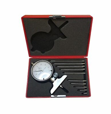 Rdgtools Metric Depth Gauge With Dial Range 0-100Mm With Extensions