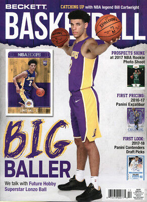 New Beckett Basketball Card Price Guide #301 October 2017