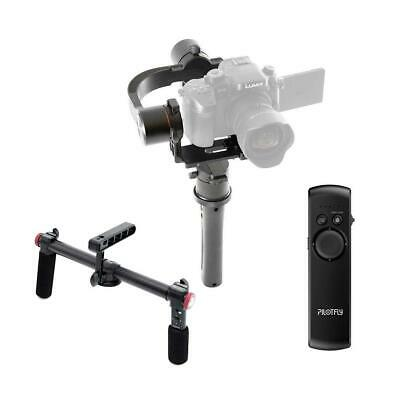 Pilotfly H2 3-Axis Handheld Gimbal Stabilizer W/Pilotfly 2-Hand Holder/RM-Remote