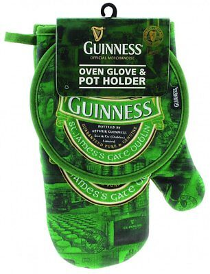 Guinness Beer Guanto Termico E Presina St. James Barbecue PS 02989