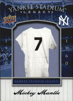 2008 Upper Deck Yankee Stadium Legacy Collection Box Set Baseball Card Pick