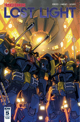 TRANSFORMERS LOST LIGHT #5 SUBSCRIPTION VARIANT B (IDW 2017 1st Print) COMIC