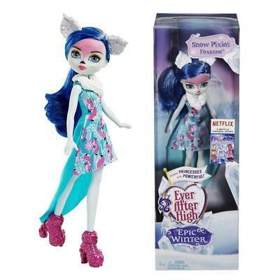 Ever After High Foxanne Epic Winter Snow Pixies Fashion Doll Toy