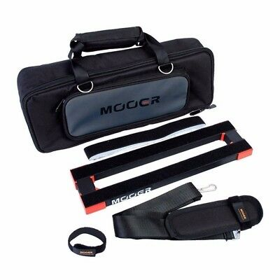 Mooer PB05 Stomplate Mini Pedal Board and Soft Carry Bag
