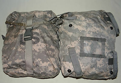 2ea Sustainment Pouch, Molle II ACU, Military Issue, GOOD-VGC