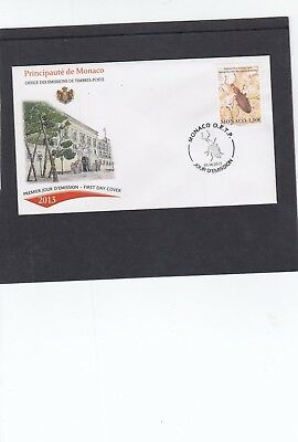 Monaco 2013 Newly Discovered Insect First Day Cover FDC
