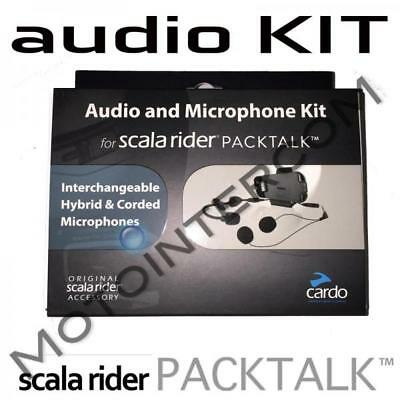 RXUS Packtalk Audio Kit complete with microphone and speaker base