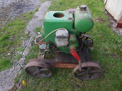 RUSTON HORNSBY PB 1.5hp STATIONARY ENGINE ON TROLLEY
