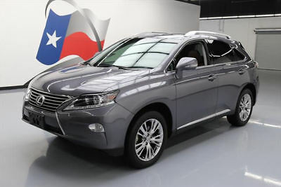 2014 Lexus RX Base Sport Utility 4-Door 2014 LEXUS RX350 PREM SUNROOF LEATHER PWR LIFTGATE 68K #141236 Texas Direct Auto
