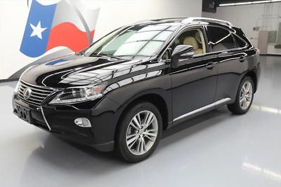 2015 Lexus RX Base Sport Utility 4-Door 2015 LEXUS RX350 PREM CLIMATE SEATS SUNROOF NAV 26K MI #421185 Texas Direct Auto