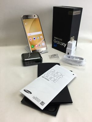 Rare New Samsung Galaxy S7  SM-G930V GOLD VERIZON AT&T FACTORY UNLOCKED STRIAGHT