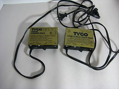 2 TYCO Train Power Pack Transformers 120v  Model 899BP & 899B not tested