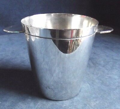 SUPERB ~ ART DECO / Moderne ~ SILVER Plated ~ ICE Pail ~ c1930