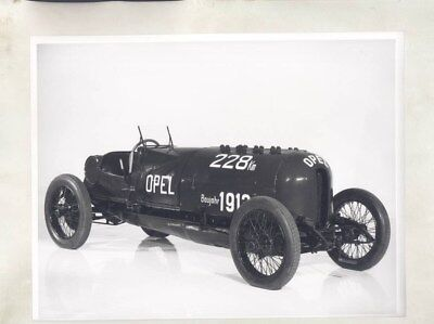 1913 1914 Opel 260PS Race Car ORIGINAL Factory Photo & Press Sheet wy5285