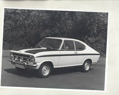 1972 Opel Rallye Kadett ORIGINAL Factory Photo & Press Sheet wy5309