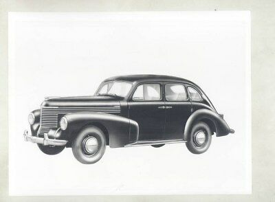 1948 1949 1950 Opel Kapitan Sedan ORIGINAL Factory Photo & Press Sheet wy5338