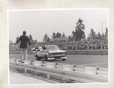 1970 ? Opel Race Car ORIGINAL Factory Photograph wy5361