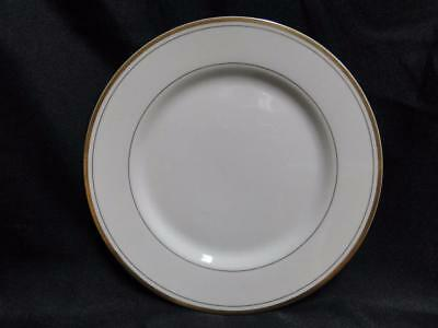 Fitz & Floyd Palais Buff, Gold Trim and Verge: Salad Plate (s)  7 1/2""""